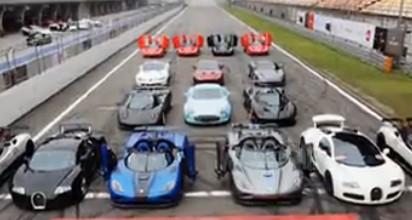 中国人再次震惊全世界!500辆超跑大聚会!上演中国极速赛车节!