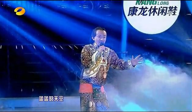 劲搞笑!王祖蓝模仿腾格尔!