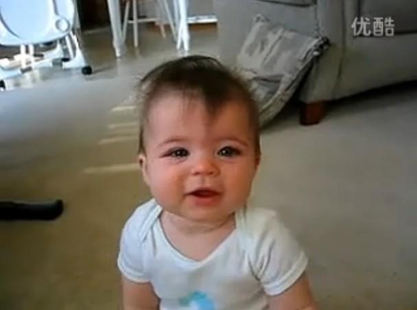 哭笑自如的宝宝 新一代的表情帝