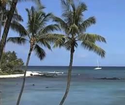 美国夏威夷岛 热带,海滩 ,火山