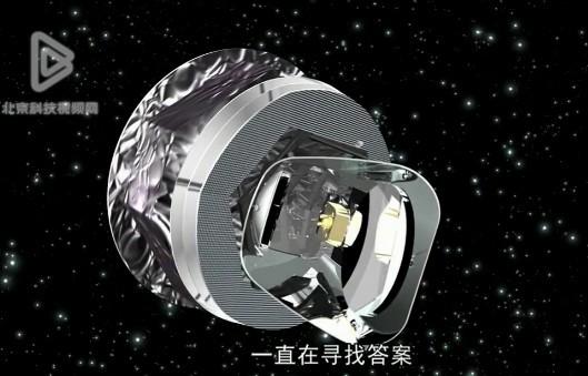 卫星捕捉到银河中心辐射束:或证明暗物质存在