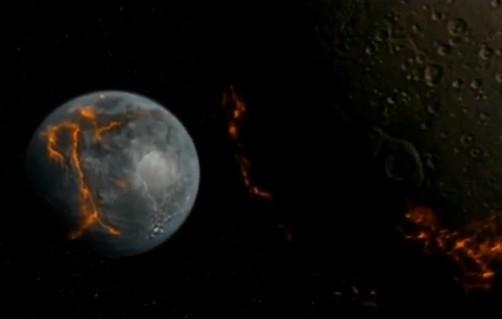 神秘宇宙历史之:地球邻居月球的诞生