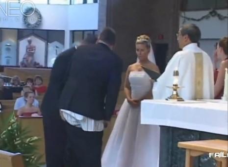 婚礼场上那些尴尬的事儿