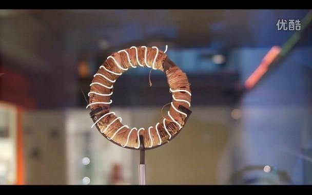 【藤缠楼】用磁悬浮电磁感应点燃了一盏吊灯