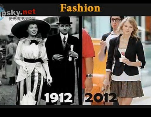 1912 vs 2012:一百年科技变化大比拼