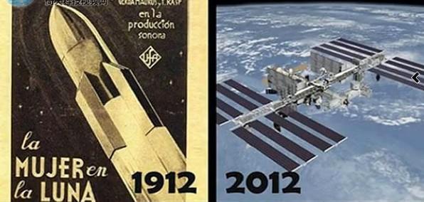 百年科技变化大比拼图文对比