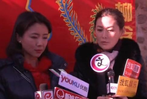 王思懿首演农村剧《翠兰的爱情》外表太洋气没法扮村妇 121118