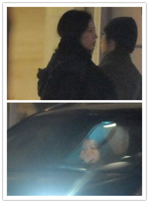 赵薇首做导演加班忙 深夜返家出交通事故
