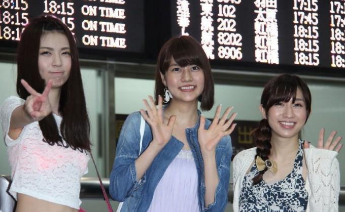 AKB48成员抵台秀中文 萌翻众男粉丝