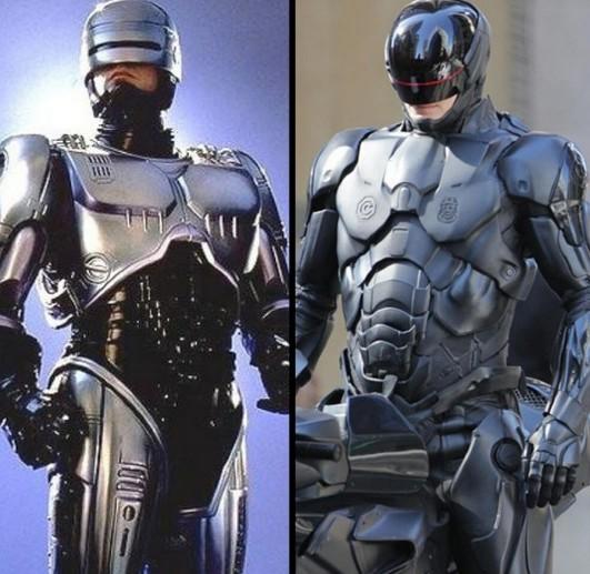 新《机械战警》中文预告片 酷黑战甲升级科幻经典