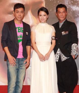 《逃出生天3D》首映 古天乐刘青云合作默契依然