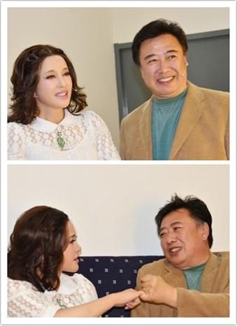 刘晓庆与前夫陈国军同录节目 拉钩约定还原真相