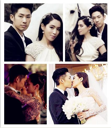 吴建豪娶新加坡百亿千金 甜蜜拥吻守贞4年急造人