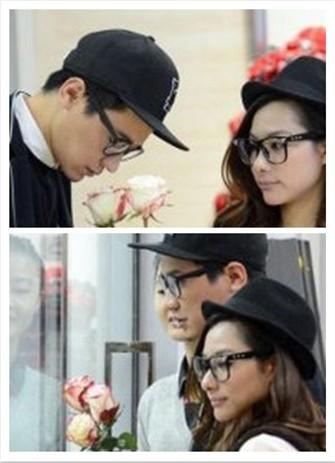 刘璇王弢婚期将至 花店订购价值百万鲜花