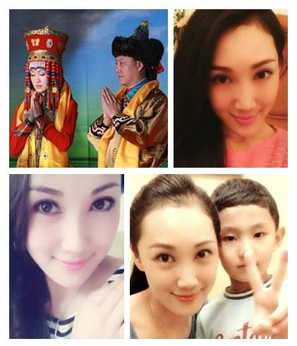 """韩磊小十多岁妻子曝光 曾是""""蒙古族之花"""""""
