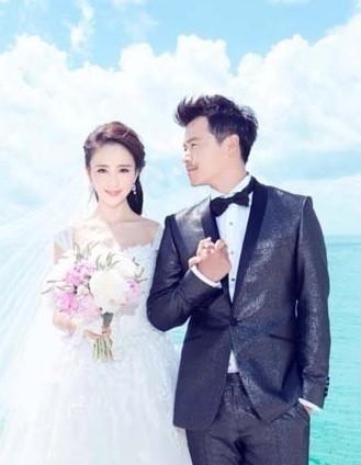 陈思诚佟丽娅婚纱照曝光 发表爱的誓言