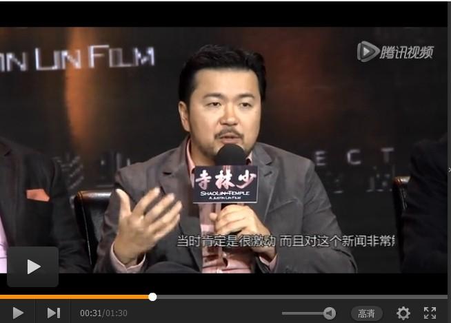《速度与激情》导演谈男主角死亡事件 有望请李连杰加盟3D《少林寺》