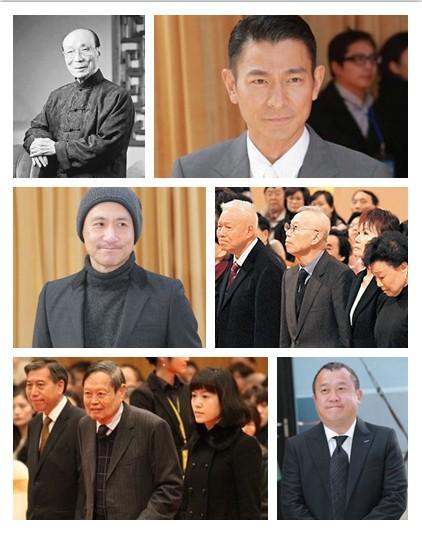 香港巨星8小时追思邵逸夫 遗孀动容家人落泪