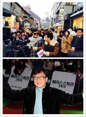 《警察故事2013》韩国宣传 成龙:我是半个韩国人!