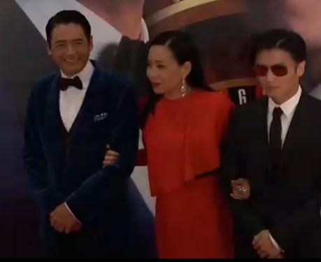 周润发提名刘德华做演协会长 谢霆锋避谈儿子
