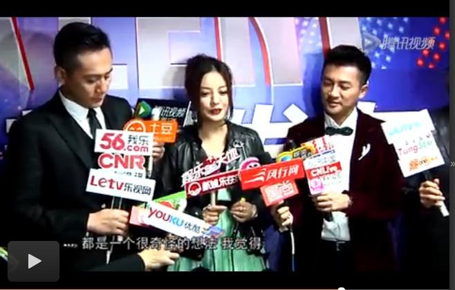 """刘烨搞怪招大家""""烦"""" 赵薇不赞成节目改电影"""