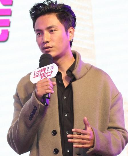 陈坤宣传新片调戏记者 情人节要和儿子一块过