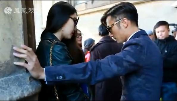 时装周:独家实拍范爷巴黎会面谢霆锋