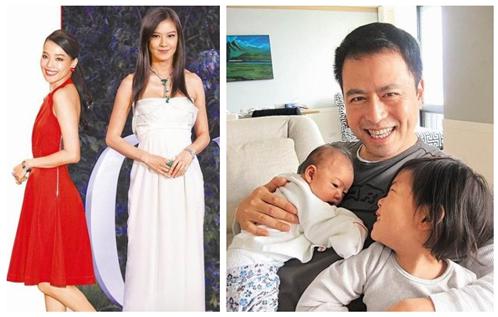 林熙蕾为两千金拍父女合照 小女昵称蜜蜜