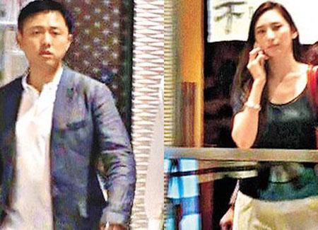 吴佩慈男友被街边广告追债 疑似财政出现问题