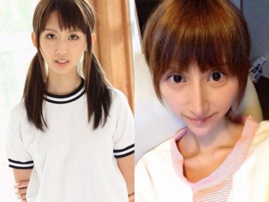 日本女星整容成大眼锥子脸 被讽酷似外星人