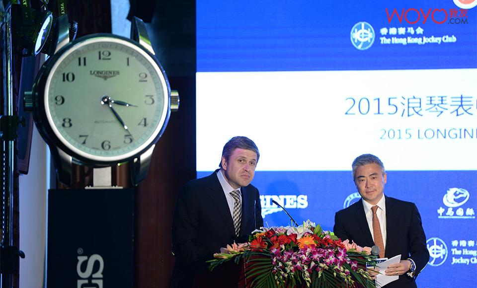 2015浪琴表中国马术巡回赛发布会08