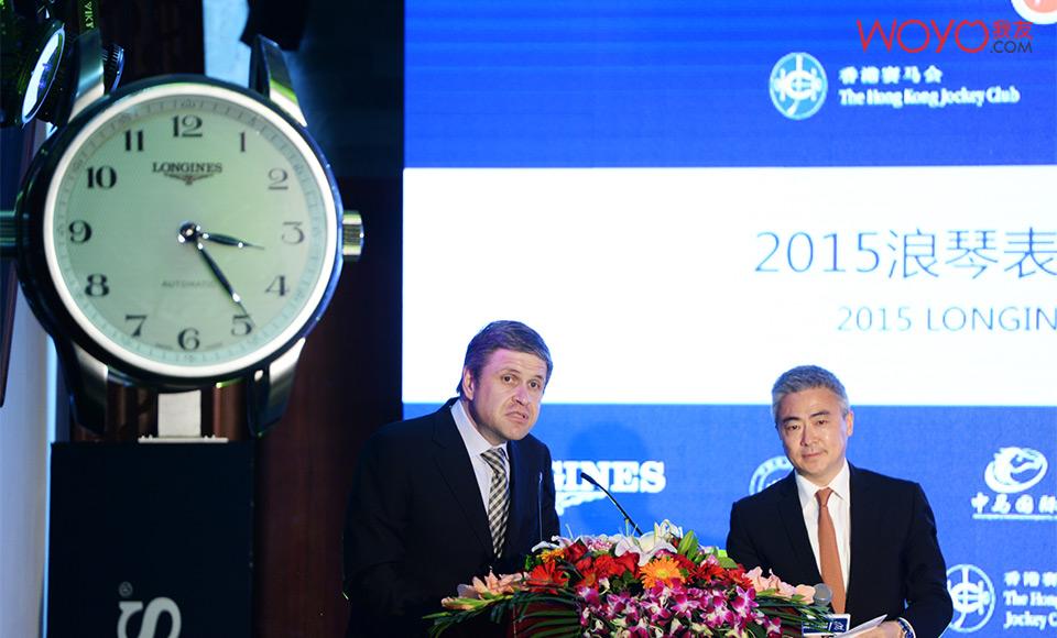 2015浪琴表中国马术巡回赛发布会-胡里安发言