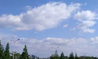 湛蓝的天空