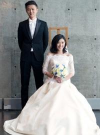 苏慧伦北海道结婚 雪景浪漫温馨